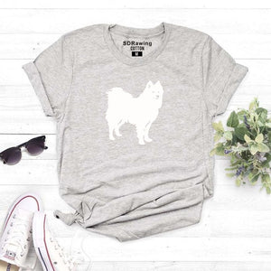 Samoyed Lovers T-Shirt - MacryDog