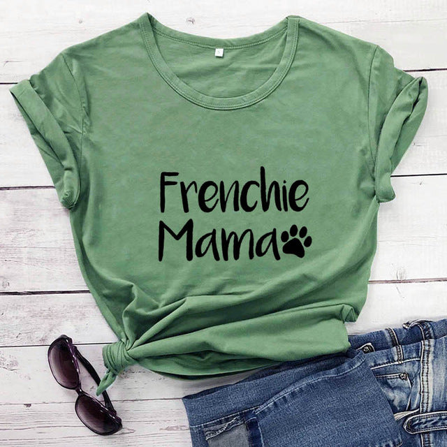 Frenchie Mama T-Shirt - MacryDog