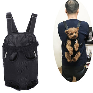Adjustable Dog Backpack
