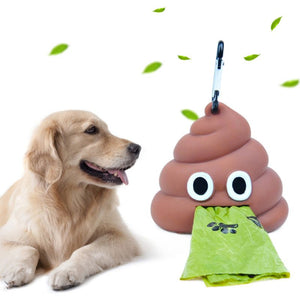 Portable Poop Bag Carrier