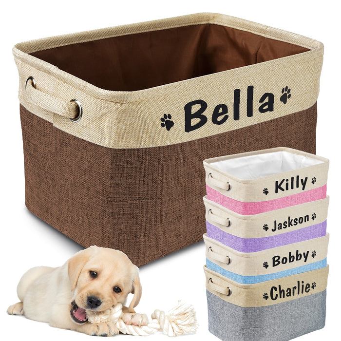 Customized Dog Storage Box
