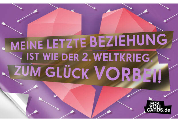 10er Set: Alle FICKER STICKER