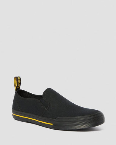 TOOMEY SLIP ON CANVAS BLACK