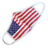 Triple Layer Fabric American Flag Face Cover Washable Reusable 3 PCS
