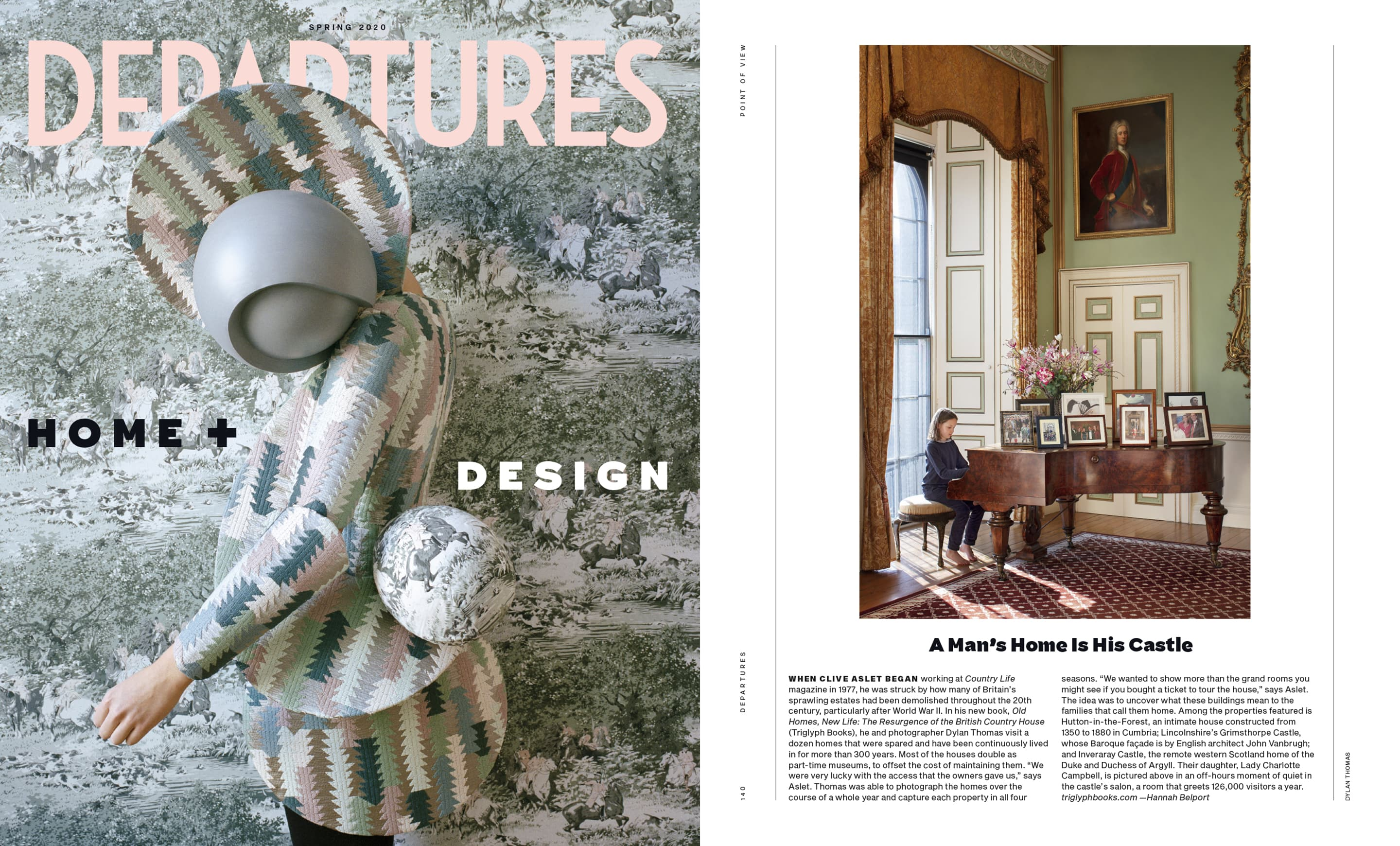 Old Homes New Life featured in Departures Magazine