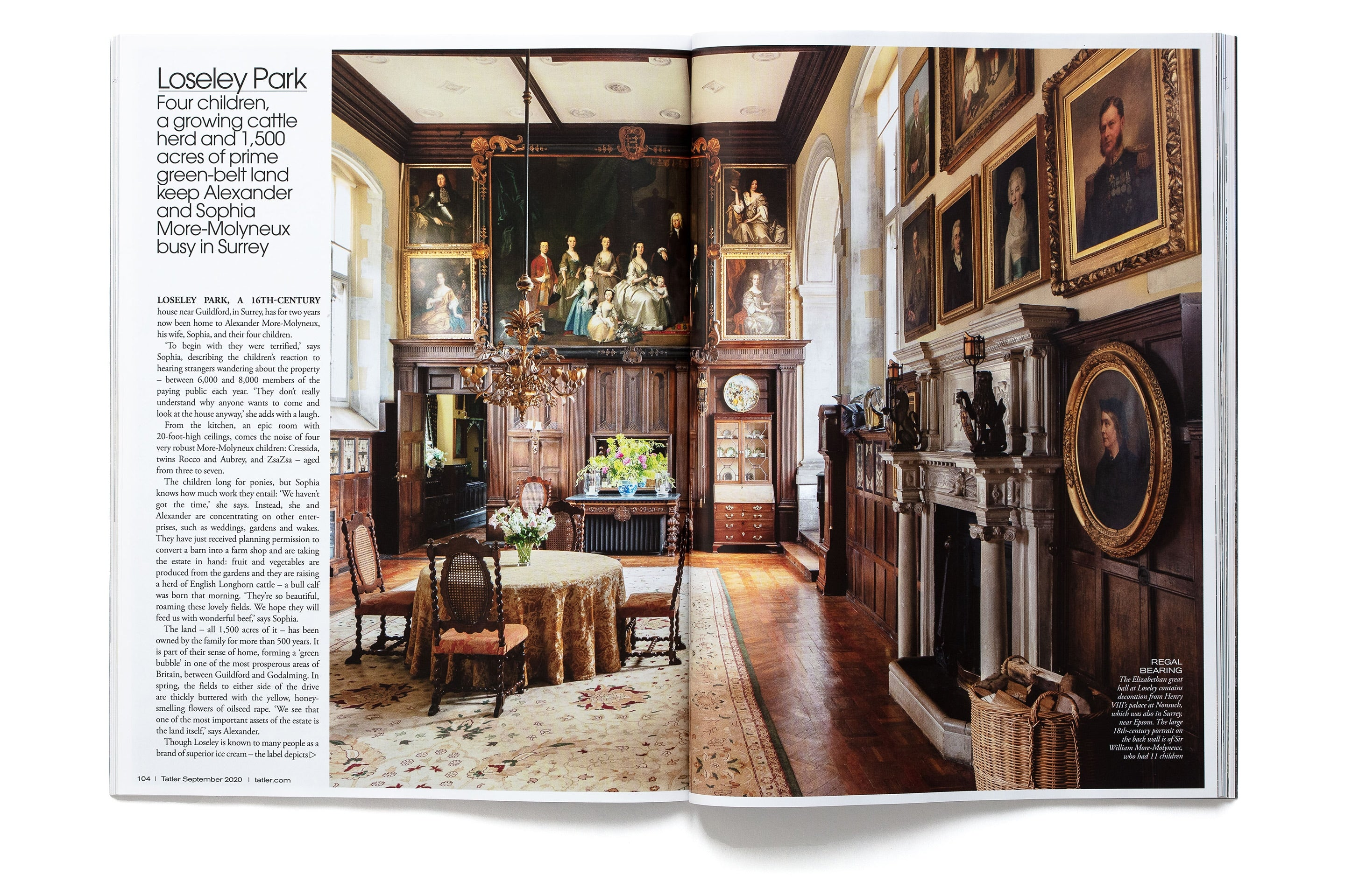 Old Homes New Life, Tatler 2020 page 2