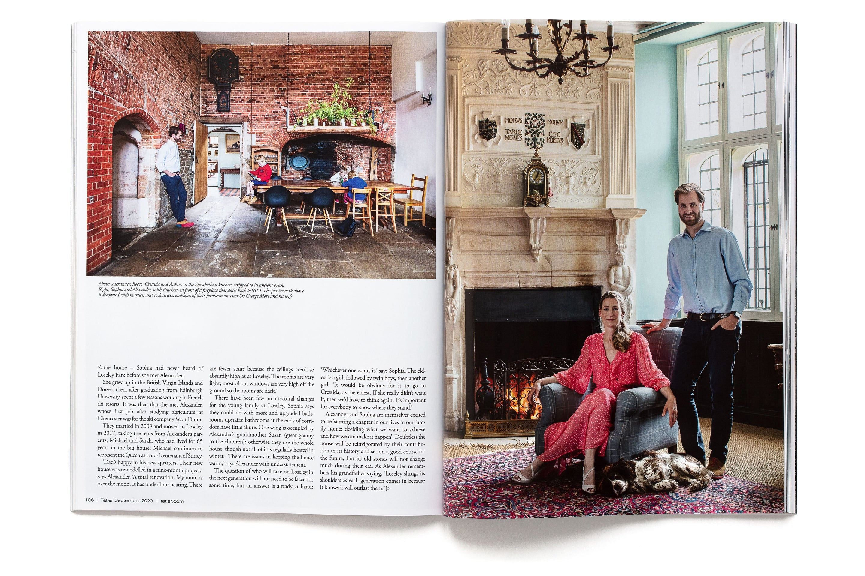 Old Homes New Life, Tatler 2020 page 3