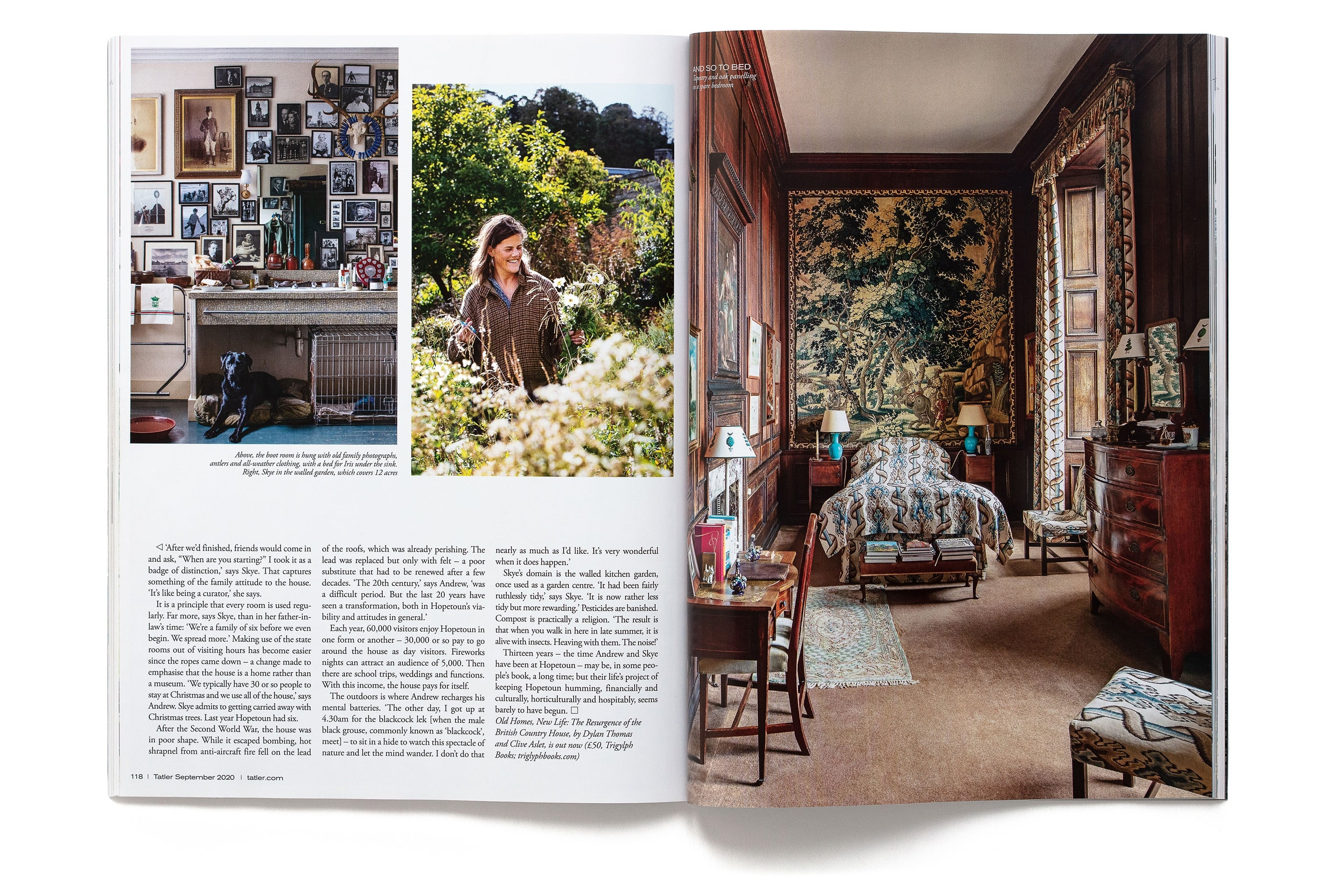 Old Homes New Life, Tatler 2020 page 9