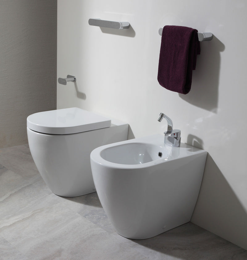 Flaminia Link Back to Wall Stand Bidet - LK217