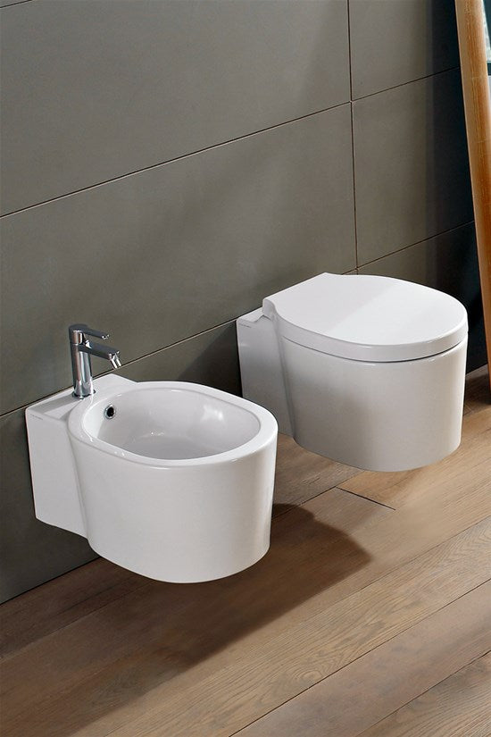 Scarabeo Bucket Wand Wc – 8812