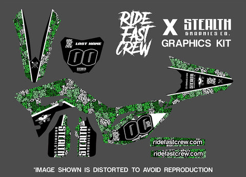RIDE FAST CREW DECAL KIT