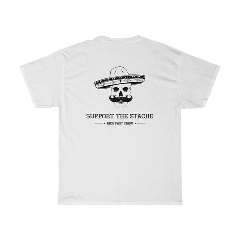 SUPPORT THE STACHE TEE
