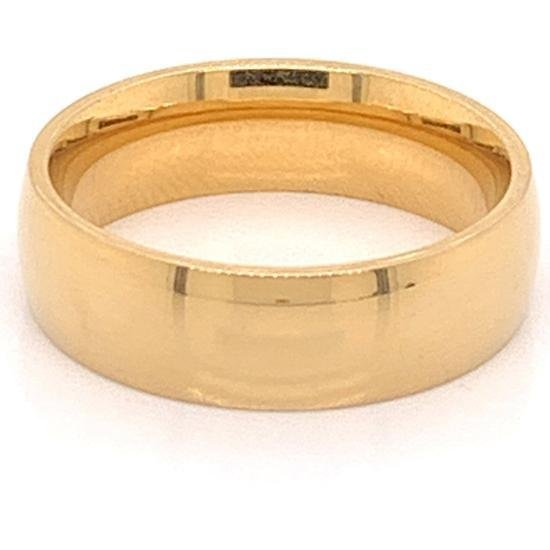 Gold Plated Stainless Steel Ring-CFR0264