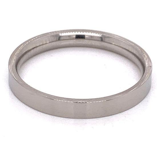 Stainless Steel Polished Flat Ring-CFR7021