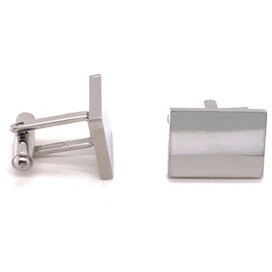 Stainless Steel Blank Square Cufflinks-SBB0091