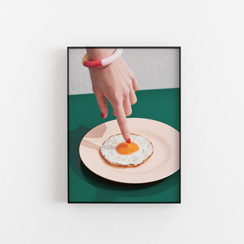 Fried Egg poster