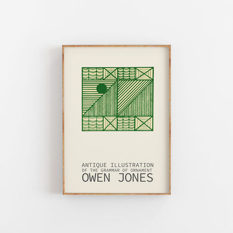 Owen Jones - The Grammar Of Ornament - Green