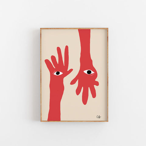 Hamsa Hands Paper Collective
