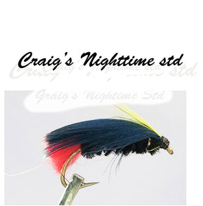 Night Uns and Crawlers  Pkt of 3 Flies