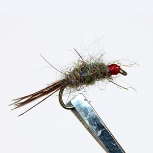 Hare and Copper & Variants  Pkt of 3 Flies