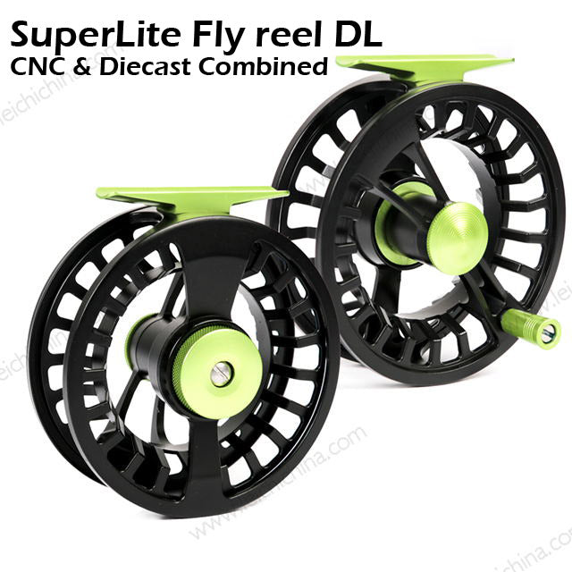 DL - CNC-Die cast combination Fly reel