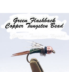 Tungsten Nymphs & Variants Pkt of 3 Flies