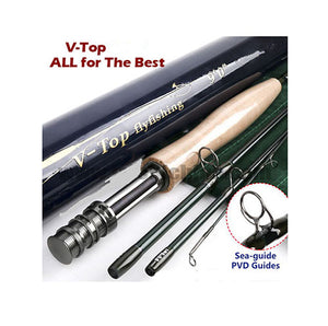 V Top  Fly Rod