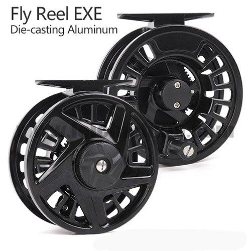 EXE Die Cast Fly reel
