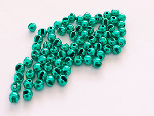 Slotted TungstenBeads B  Anodised
