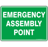 Standard Emergency Sign