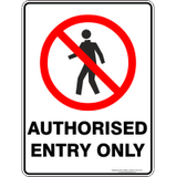 Standard Prohibition sign