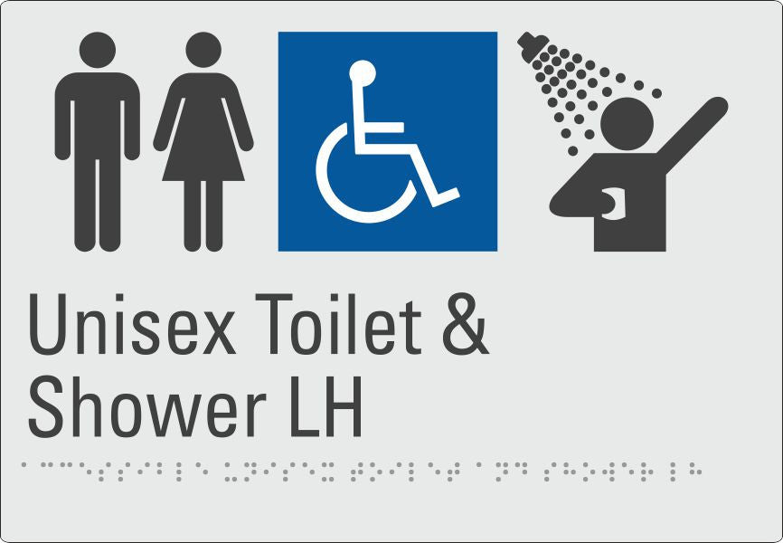 Unisex Toilet & Shower LH