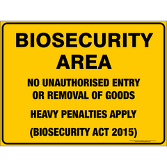 BIOSECURITY AREA