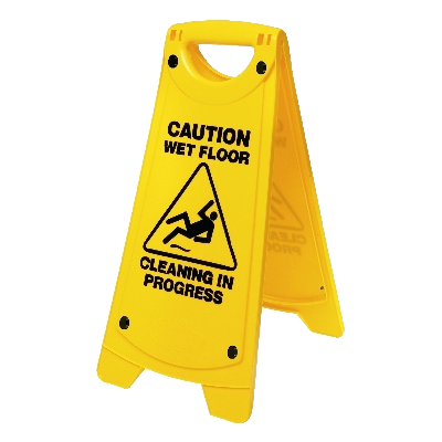 Caution Wet Floor Cleaning in Progress Floor Stand