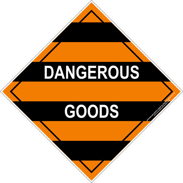 Mixed Class Dangerous Goods Australian Safety Signs