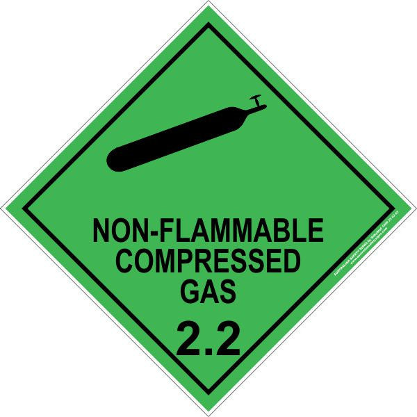 CLASS 2 - NON-FLAMMABLE COMPRESSED GAS 2.2