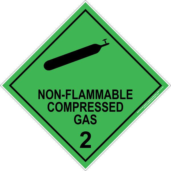 CLASS 2 - NON-FLAMMABLE COMPRESSED GAS 2