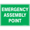 10 Pack of Emergency Assembly Point Signs - 3mm SignFlute
