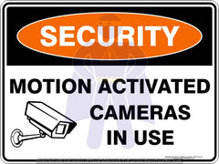 MOTION ACTIVATED CAMERAS IN USE