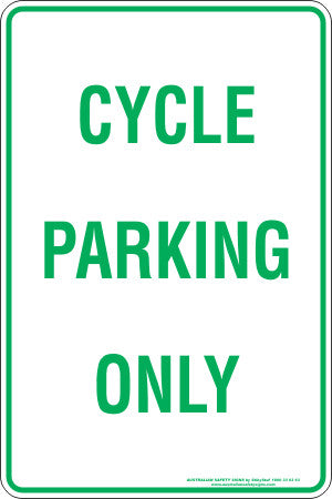CYCLE PARKING ONLY
