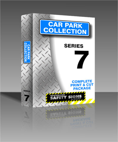 Series 7 - Parking Signs Collection