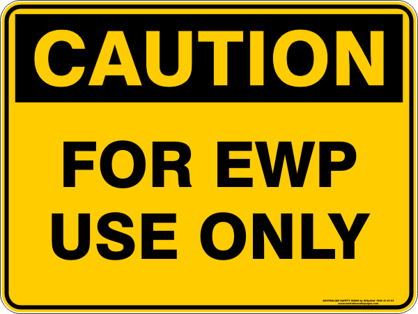 FOR EWP USE ONLY