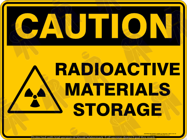 RADIOACTIVE MATERIALS STORAGE
