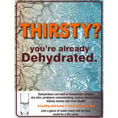 Dehydration Sign