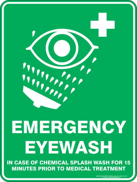 EMERGENCY EYEWASH