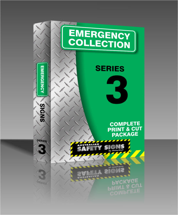 Series 3 - Emergency Safety Signs Collection