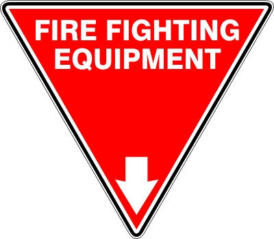 EXTINGUISHER ID MARKER FIRE FIGHTING EQUIPMENT
