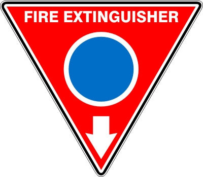 EXTINGUISHER ID MARKER FOAM