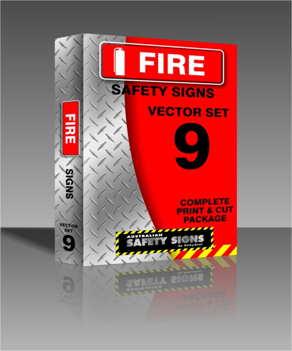 Series 9 - Fire Safety Signs Collection