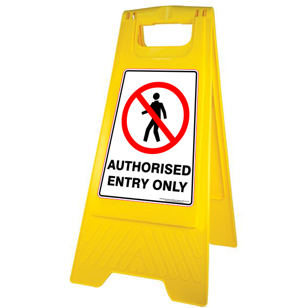 NEW AUTHORISED ENTRY ONLY - A-FRAME